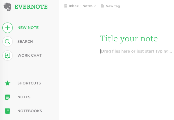 Evernote – web browser or installed program?