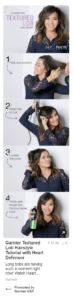 Garnier hair tutorial pinterest